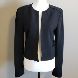 t. Babaton Blazer Black, cropped style, Size 6